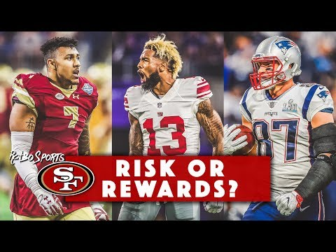 LIVE! Should 49ers Trade For Rob Gronkowski, Odell Beckham Jr.? And 2018 Draft Talk