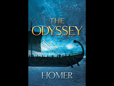 The Odyssey - famous epic poems written in the 18 Century BC by the great Greek poet, Homer.