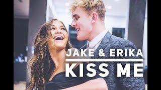 Jerika Edit (Jake Paul and Erika Costell)// Kiss Me - Ed Sheeran