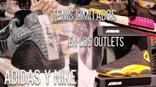 Sneakers Limitados En Los Outlets Adidas Y Nike Vlog
