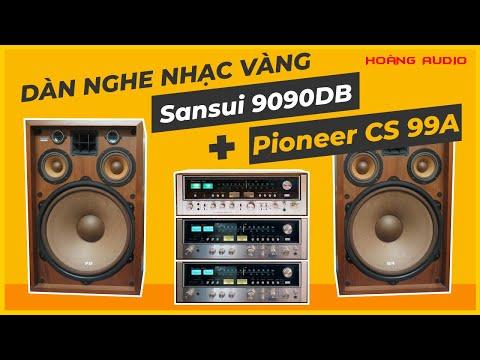 Bộ sản phẩm nghe nhạc vàng - Hoang Audio