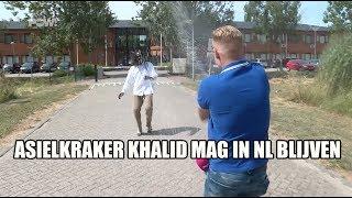 Asielkraker Khalid mag in Nederland blijven
