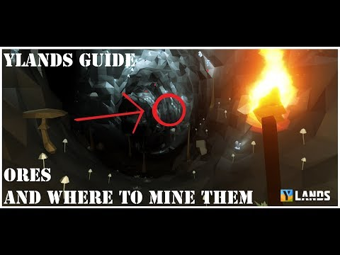 Ylands Guide: Ores And Where To Mine Them.
