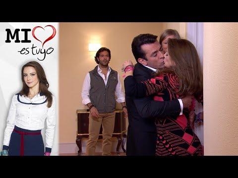 ¡Diego sorprende a Ana con Fernando!   Mi corazón es tuyo - Televisa
