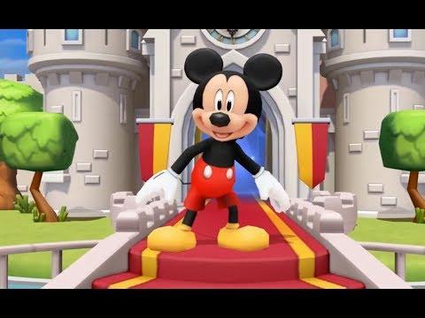 Футаж для начала детского фильма с персонажем Микки Маус. Mickey Mouse