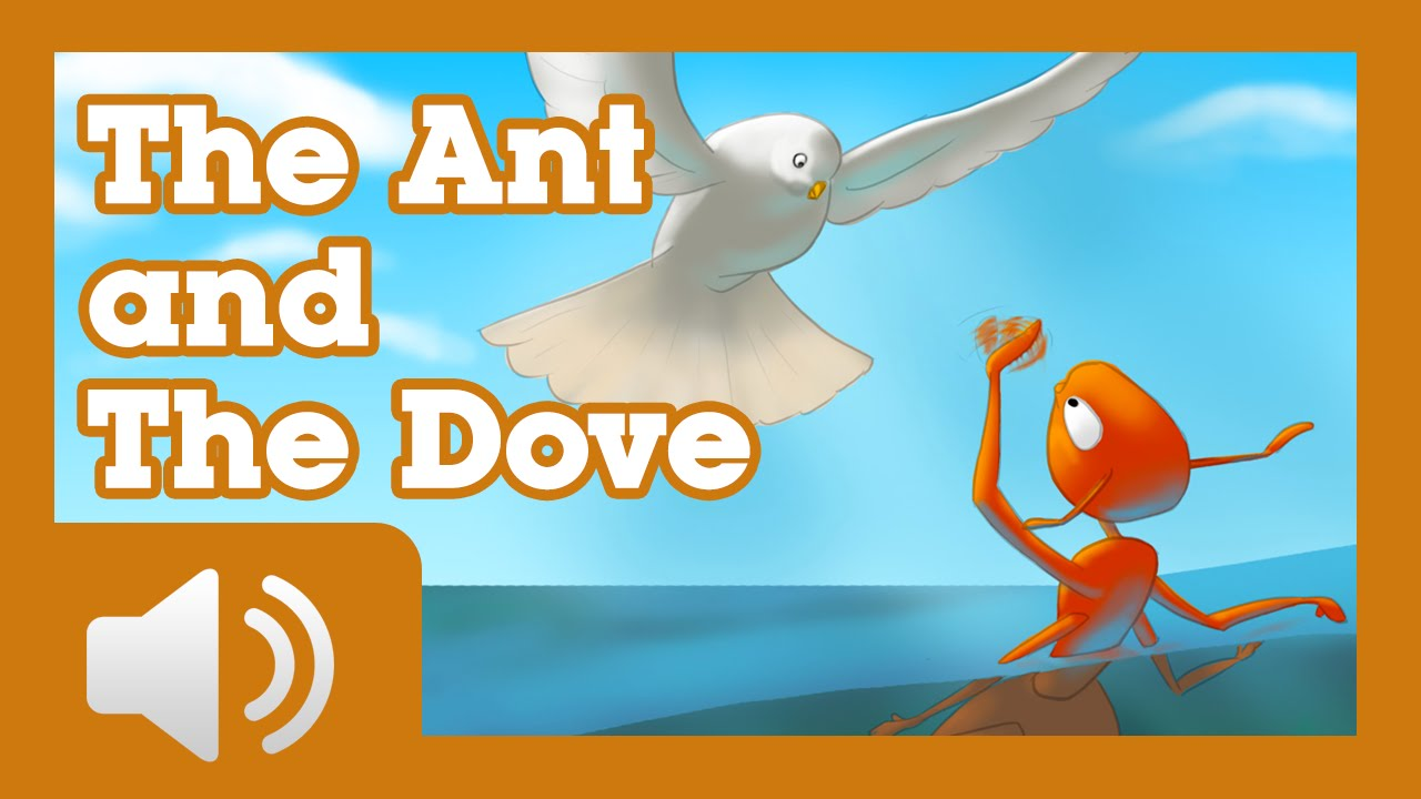 The Ant and the Dove - Children Story by Tales with GiGi