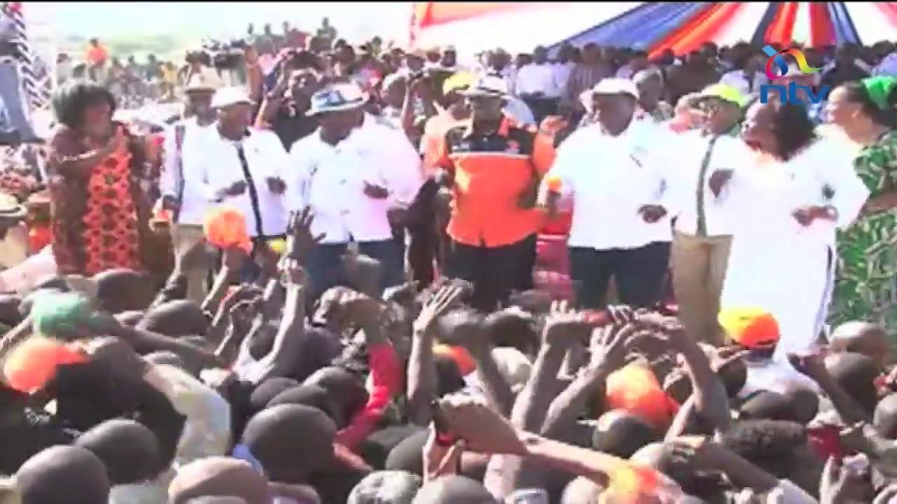 Nasa makes final pitch to voters in Kakamega and Kisumu