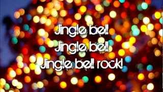 Repeat youtube video Glee - Jingle Bell Rock (Lyrics)
