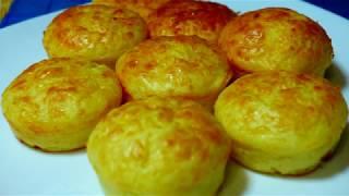 Сытный перекус сырные маффины