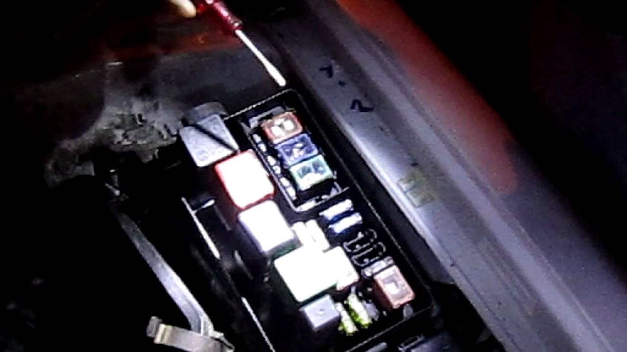 Toyota Prius Fuse Box Cover Auto Electrical Wiring Diagram Venza How To Replace The Alt 100amp Of A U0026 39 96 Corolla