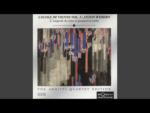 Six Bagatelles For String Quartet, Op. 9: No. 5, Aüsserst Langsam