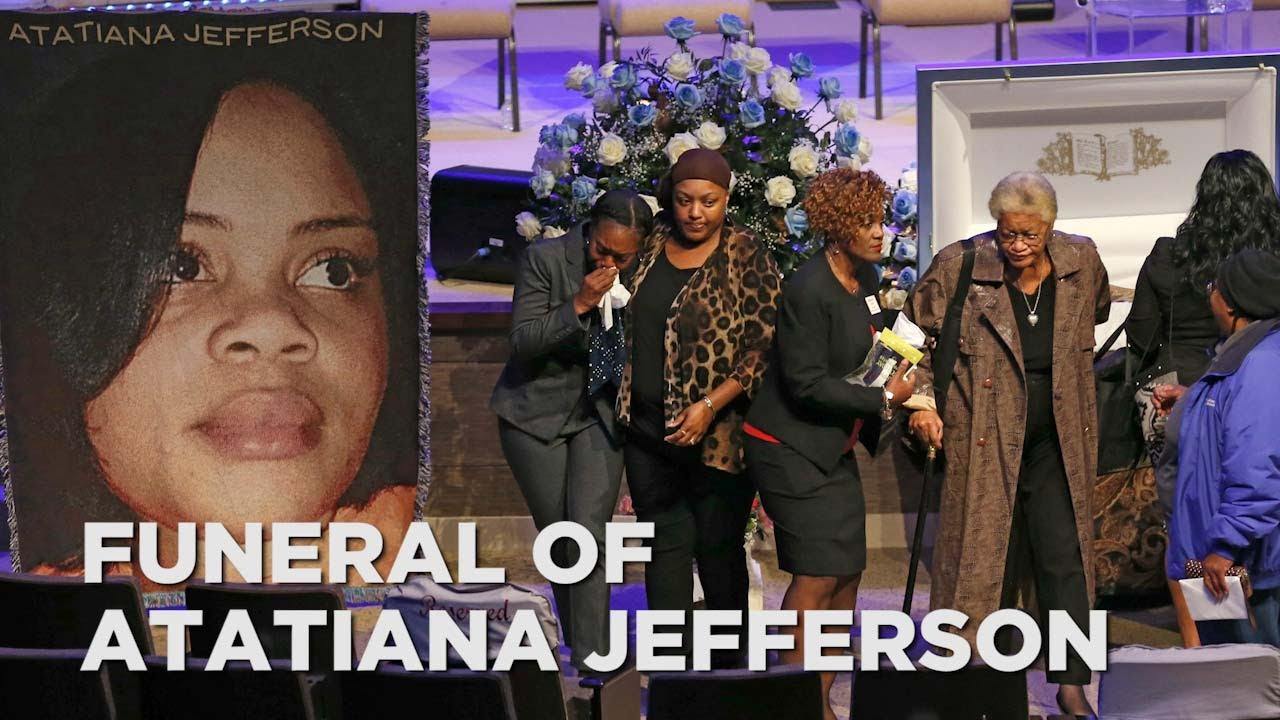 Funeral held for Atatiana Jefferson, woman shot and killed by officer in her own home