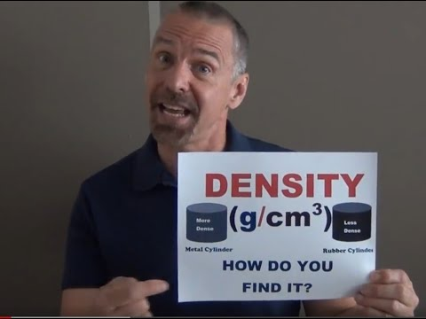 The Density Song --  NOW WITH CLOSED CAPTION SO YOU CAN SING ALONG! June 28, 2012 Mr. Edmonds