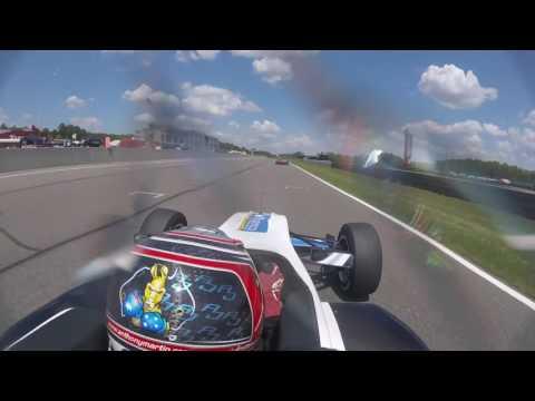 usf2000 GP of Alabama no.33 Bayley Mickler