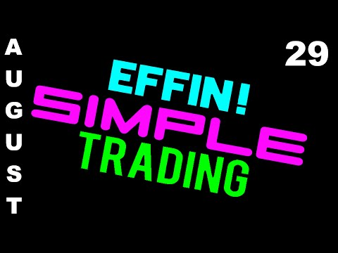 8/29/16 Trades on Display – eMini NASDAQ (NQ) – Futures Day Trading // EffinSimpleTrading