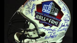 Auction: HOF Full-Size Authentic Helmet Signed by Barry Sanders, Jim Brown, Gale Sayers, Joe Greene