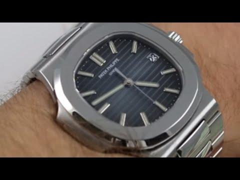 e82bf3b5784 Patek Philippe Nautilus 5711/1A-010 Luxury Watch Review - YouTube