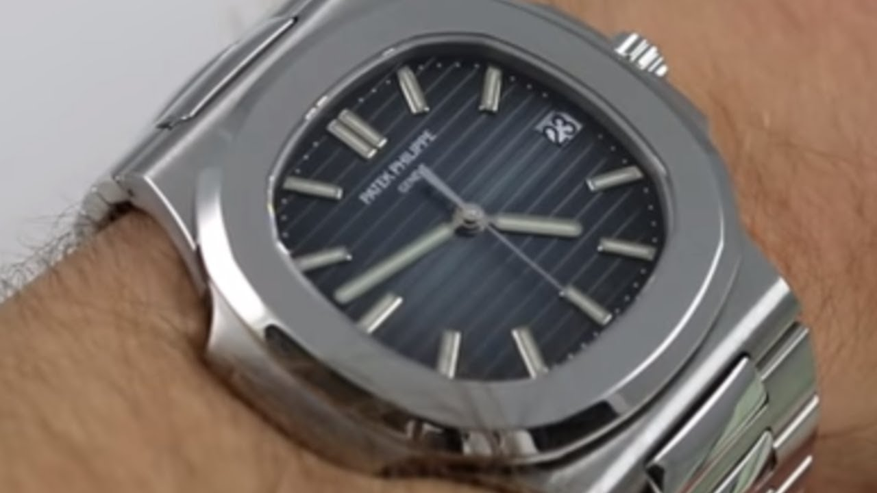 f0fa5f9bbd8 Patek Philippe Nautilus 5711/1A-010 Luxury Watch Review - YouTube