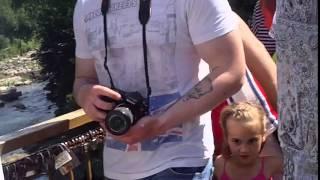 Водоспад в Яремчі.Карпати.Україна(, 2015-07-20T07:44:08.000Z)