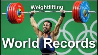 All World records 2017 : Weightlifting / Мировые рекорды: тяжелая атлетика