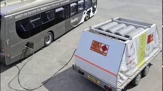 Un Autobús que  Funciona con heces de Vaca. en  Reino Unido