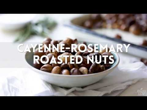 Cayenne-Rosemary Roasted Nuts