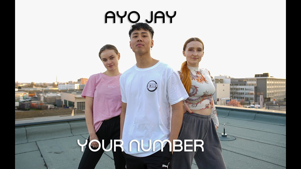 Ayo Jay - Your Number | Choreography by David | Groove Dance Classes