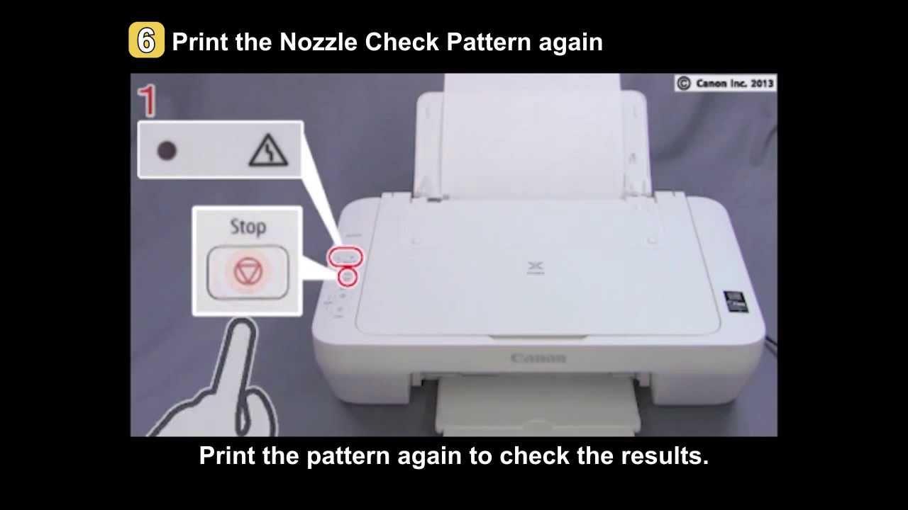 PIXMA MG2420/MG2520: Uneven printing, Faint printing - YouTube