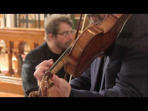 Bach Sonatas for Violin + Harpsichord Trailer/Mark Fewer + Hank Knox