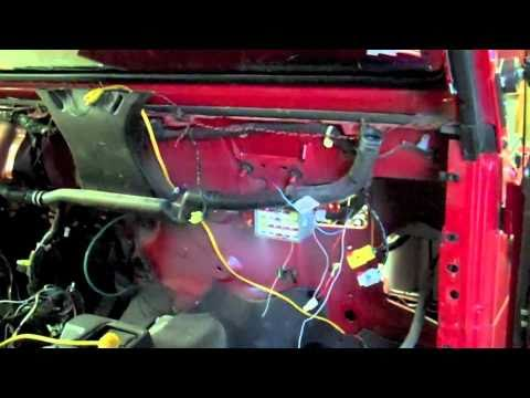 1995 Jeep Wrangler Tj Wiring Diagram Heater Core Youtube