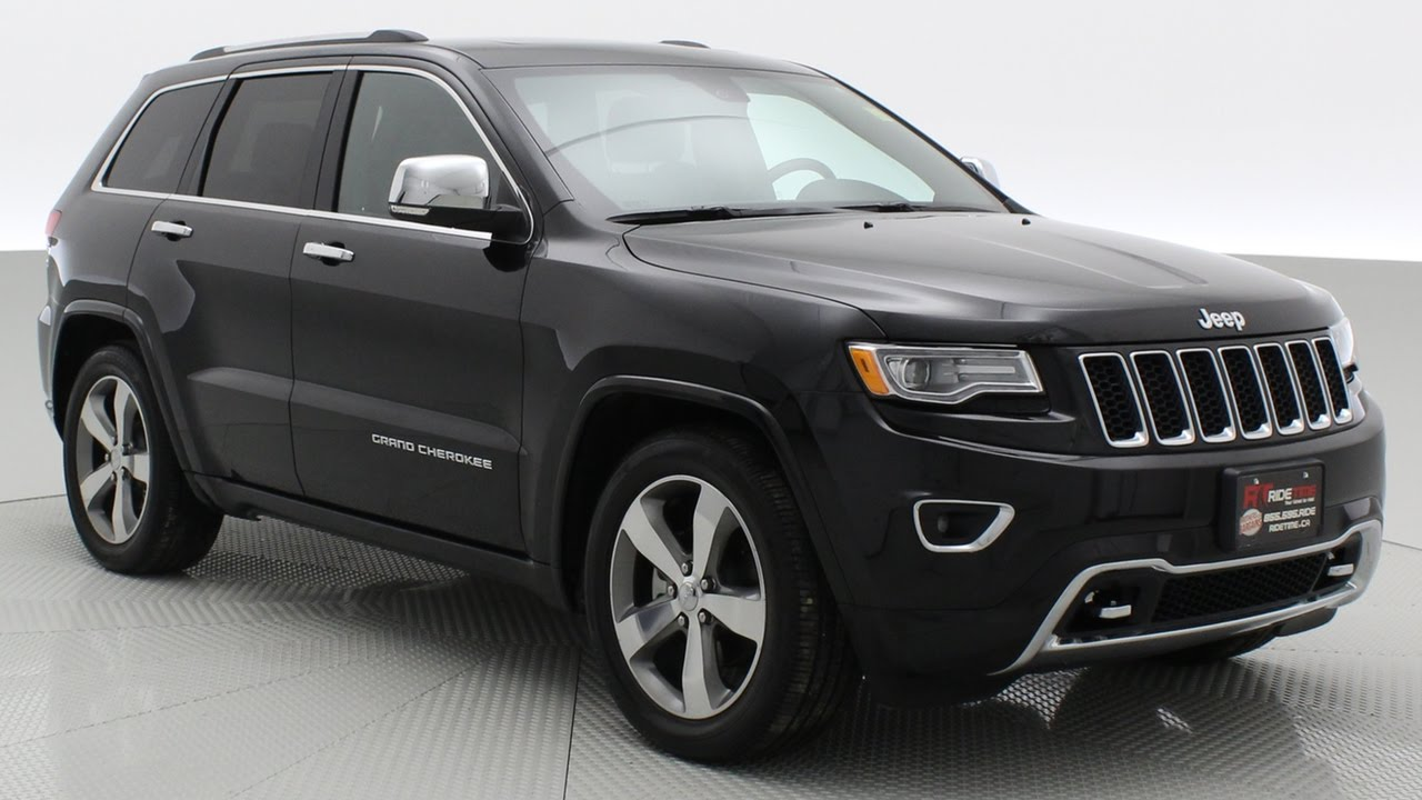2016 Jeep Grand Cherokee Overland 4wd By Ride Time Winnipeg Mb You
