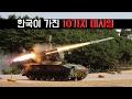 한국이 가진 10가지 미사일 - Channel10