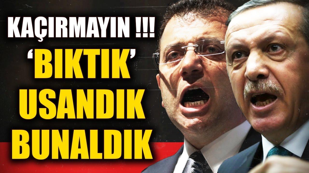 Ekrem İmamoğlu Bıktık Usandık Dedi Canlı Yayında Erdoğan'a Meydan Okudu!