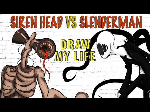 Siren Head Vs Slenderman Draw My Life Youtube