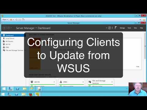 Configuring The WSUS Client