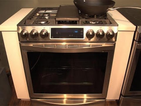 Say Hello To Samsung S New Premium Gas Range Youtube