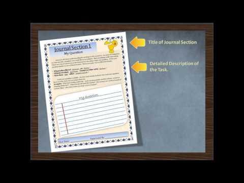 Science Fair Student Journal - Grades 3-6