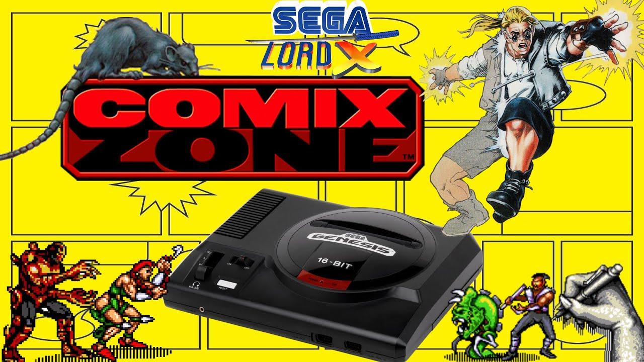 Comix Zone - Sega Genesis Review