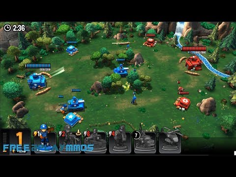 Mini Guns Gameplay Android / iOS / FB Game
