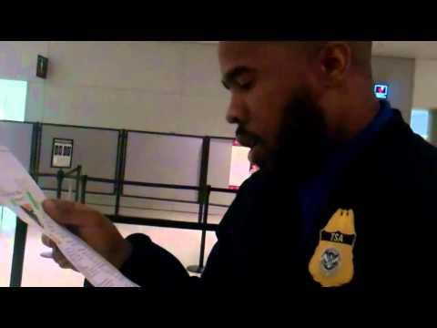 Testing TSA Policy at MIA 1 16 11