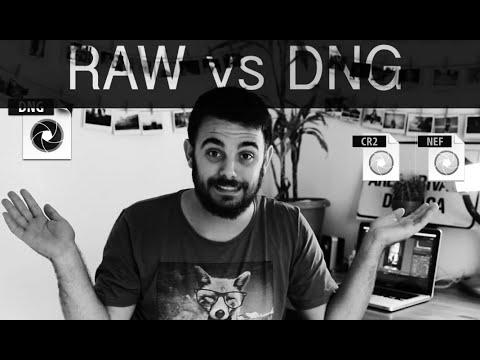 Duelo de formatos - DNG vs RAW - C06   VideoVlog-Tutorial  