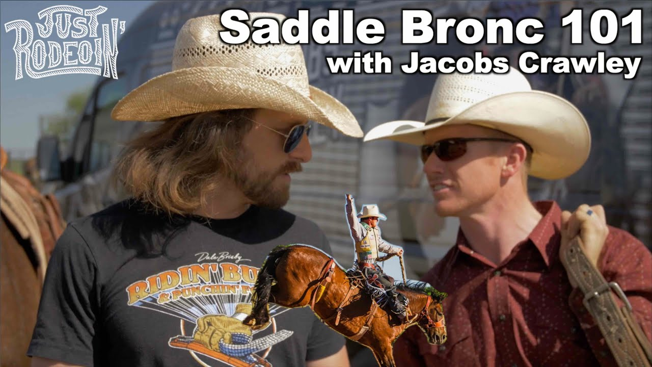 Saddle Bronc Riding basics with World Champ Hooey cowboy Jacobs Crawley - Just Rodeoin 4