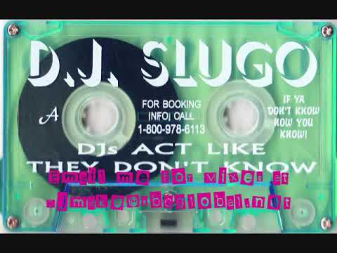 Dj's Act Like They Don't Know - Dj Slugo 90's Chicago Ghetto House Juke Mix Old School