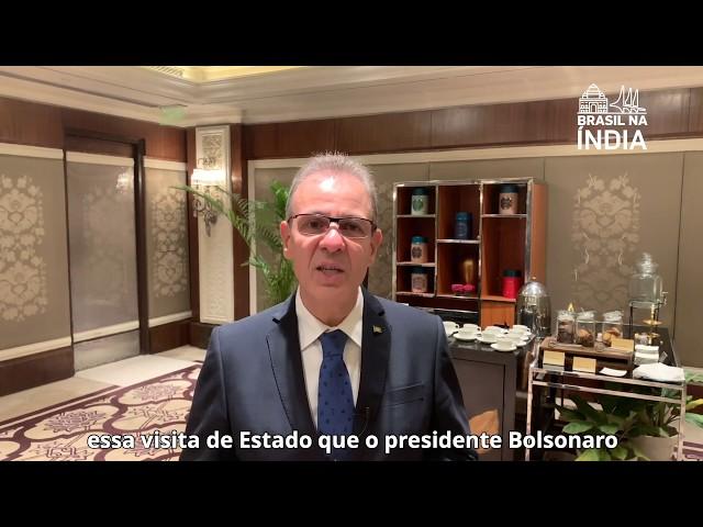 Ministro Bento Albuquerque prevê novos investimentos na Índia