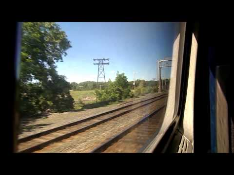 Amtrak HD: Riding Train 64 The Maple Leaf From Rochester to New York Penn 6/3/13
