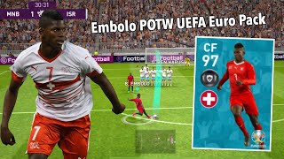 Review Featured Player CF 97 Rating EMBOLO - Pes 2020 Mobile