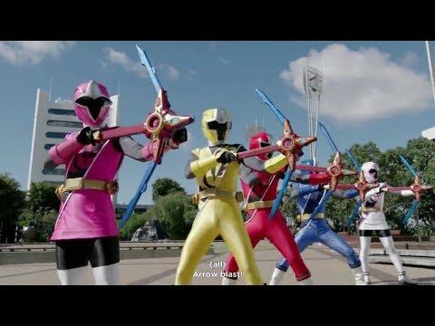 Power Rangers Super Ninja Steel Episode 6 In Hindi - Morph And Fight|Attack Of The Galactic Ninjas