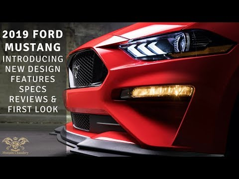 2019 Ford Mustang Introducing New Design Features Specs Reviews & First Look