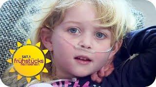 LENA (5) IST UNHEILBAR KRANK: Ein Leben mit Mukoviszidose   SAT.1 Frühstücksfernsehen   TV