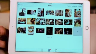 CNET How To - Share a photo album in iOS 8